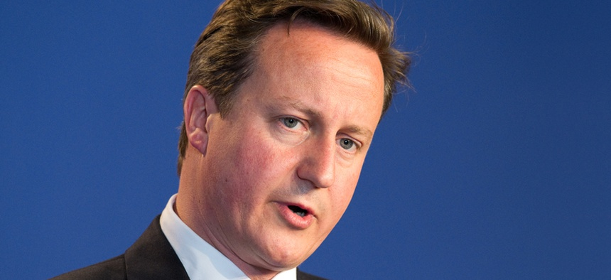 U.K. Prime Minister David Cameron announced the move Friday.