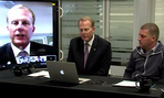 San Diego Mayor Kevin Faulconer hosted a Google Hangout to discuss the city's major website overhaul.