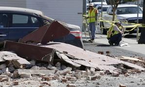 A 6.0 magnitude earthquake hit Napa County, California, on Aug. 24.