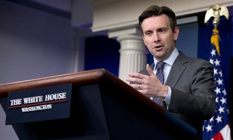 White House Press Secretary Josh Earnest addressed the media Monday.