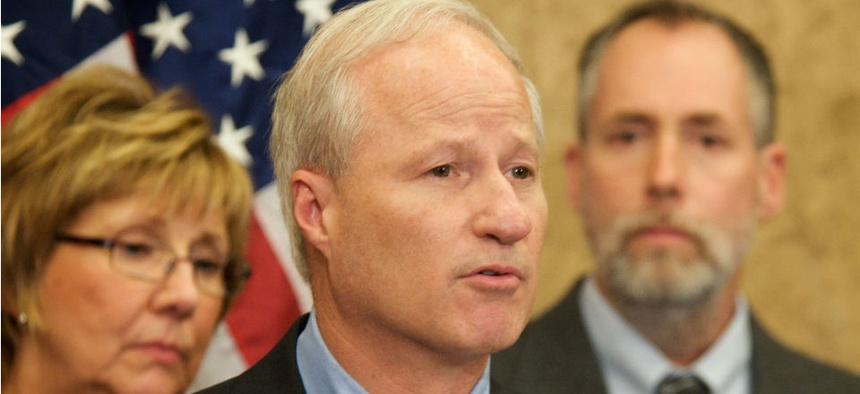Rep. Mike Coffman reminds VA chief of promise to deal swiftly with problem employees.