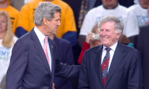Hart campaigned for Kerry in 2004.