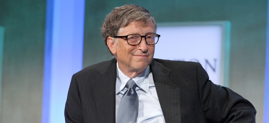Bill Gates has been described many times as an introverted leader.