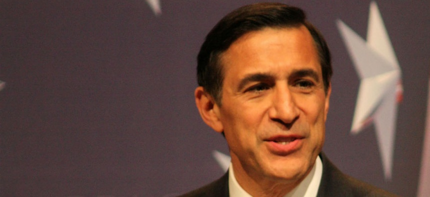Rep. Darrell Issa, R-Calif., chairman of the House Oversight and Government Reform Committee, which released the video along with the Ways and Means panel.