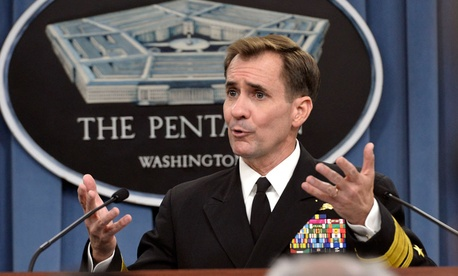 "The soldiers would be ""in a non-combat role, to expand our advise and assist mission and initiate a comprehensive training effort for Iraqi forces,"" Pentagon spokesman Rear Adm. John Kirby said in a statement."