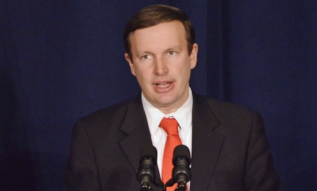 "Sen. Chris Murphy, D-Conn., pushes to get someone ""on the ground sooner [rather] than later."""