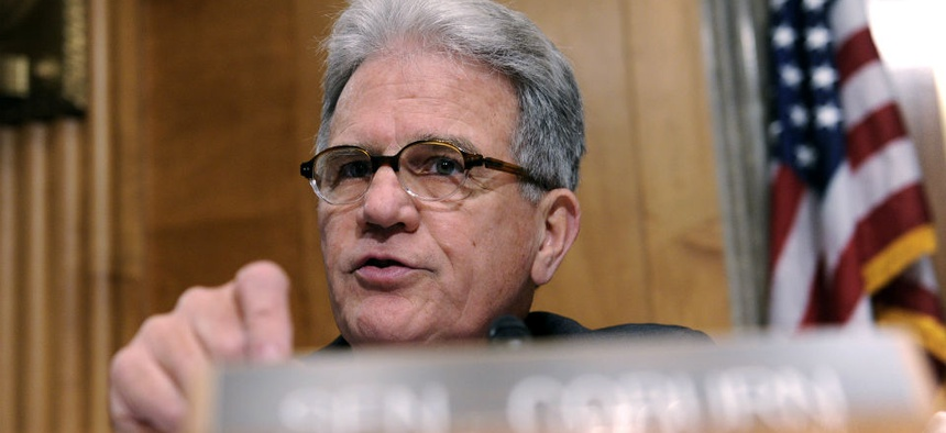 Sen. Tom Coburn, R-Okla., says the data about VA employees claiming official time is disturbing.