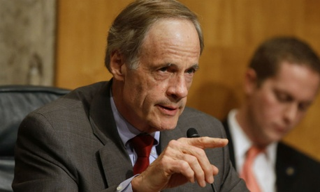 Sen. Tom Carper, D-Del., chair of the Senate Homeland Security and Governmental Affairs committee, tried to attach a postal reform bill to the $1.1 trillion spending package.