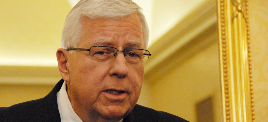 Sen. Mike Enzi, R-Wyo., will take over the gavel.