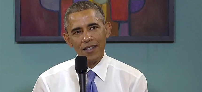 Obama held a town hall meeting in Nashville in early December.