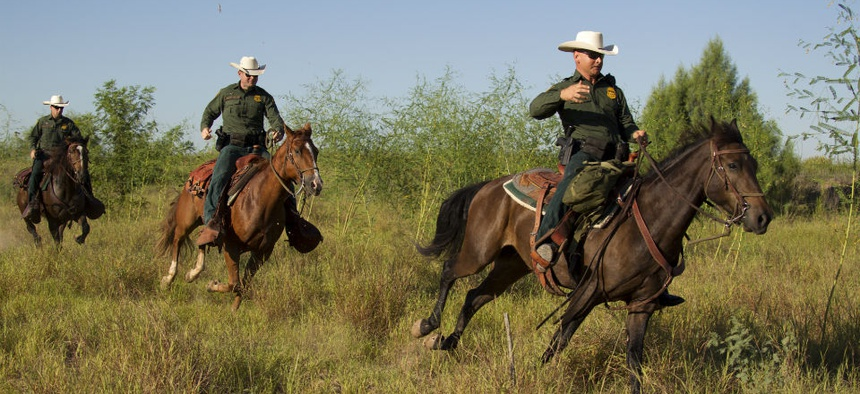 Border security activities would continue during a shutdown.