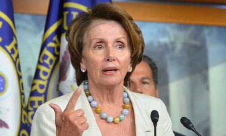 """House Minority Leader Nancy Pelosi, D-Calif., accused House Republicans of """"recklessness"""" by jeopardizing funding for Homeland Security."""