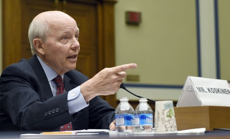 """IRS chief John Koskinen said the agency will """"have no choice but to do less with less."""""""
