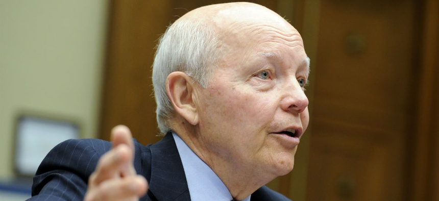 IRS Commissioner John Koskinen warns that budget cuts could force the agency to shut down for a couple of days.