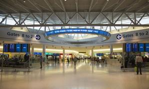 Terminal 5 at JFK International Airport.