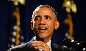 Obama addresses House Democrats in Philadelphia on Thursday.