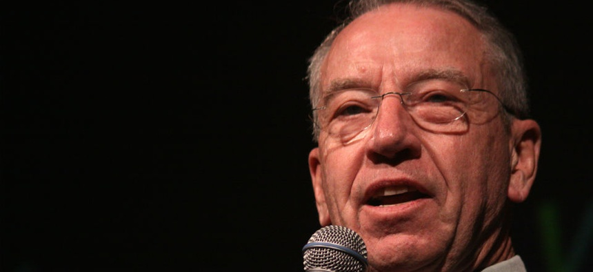 Sen. Chuck Grassley, R-Iowa, endorsed the bill and placed it on the Judiciary Committee's calendar.