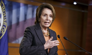 Nancy Pelosi held a news conference Friday before the votes.