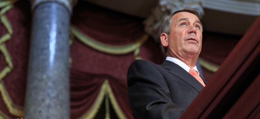 John Boehner still has a lot of work to do.