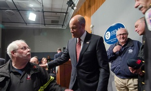 Homeland Security Secretary Jeh Johnson met with state and local law enforcement and emergency responders last week to discuss the potential shutdown.