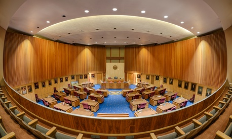 The Arizona Senate chamber.