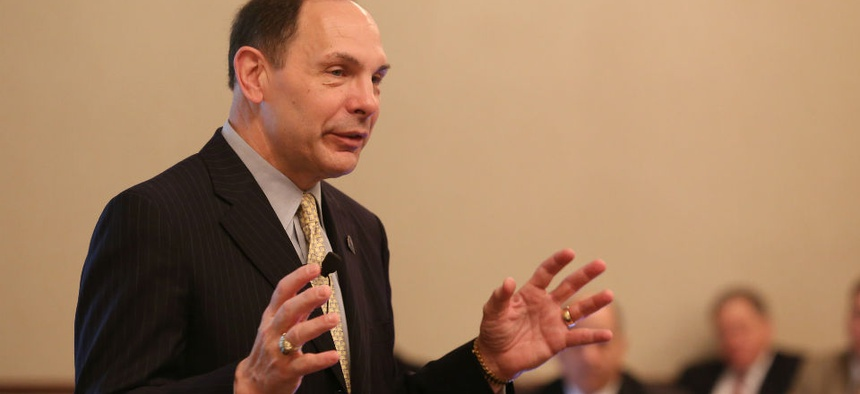 VA Secretary Bob McDonald.