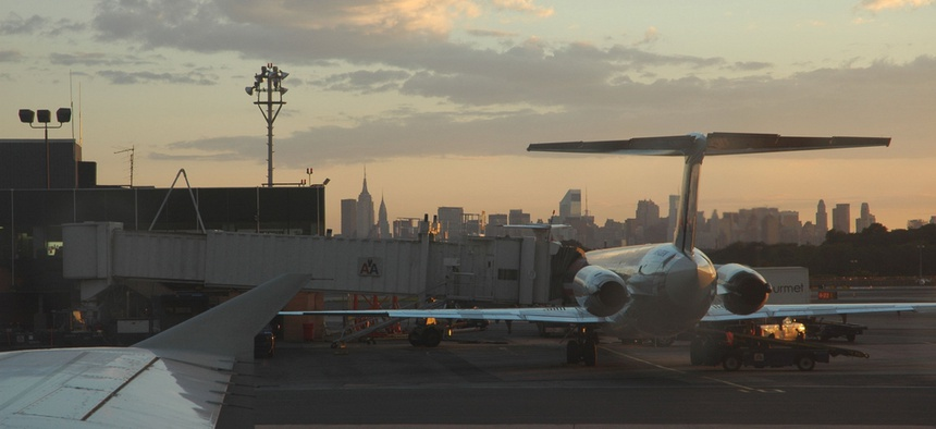 LaGuardia Airport is one of the busiest airports in the United States.