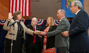 At her swearing in ceremony, Brennan promised to find areas of agreement between the Postal Service and its stakeholders when pushing for legislation.