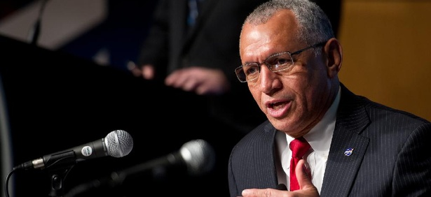 """Our core mission from the very beginning has been to investigate, explore space and the Earth environment, and to help us make this place a better place,"" NASA's Charles Bolden said."