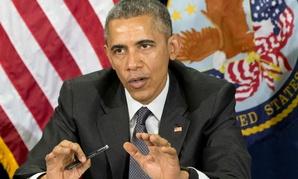 President Obama speaks at the Phoenix VA Medical Center on Friday.