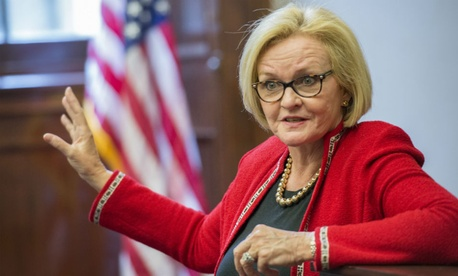 Sen. Claire McCaskill, D-Mo. (above), along with Sens. Kelly Ayotte, R-N.H., and Deb Fischer, R-Neb., reintroduced the Stop Wasteful Federal Bonuses Act on March 16.