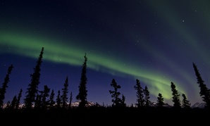 The Northern Lights over Alaska inspire awe in many.