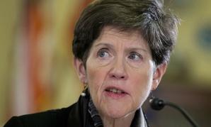 Veterans Affairs Interim Undersecretary for Health Carolyn Clancy testifies on Capitol Hill in February.
