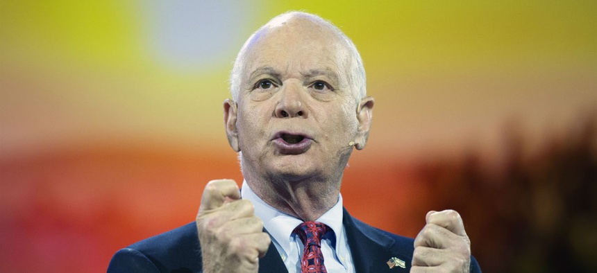 Sen. Ben Cardin, D-Md., speaking at an event in March.