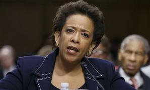 Attorney general nominee Loretta Lynch testifies before the Senate Judiciary Committee in January.