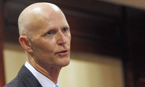 """Florida Gov. Rick Scott has reportedly barred state officials from using the words """"climate change,"""" a charge he has denied."""