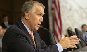 """""""We need to step back and instead of having hearings and chasing shiny objects, we start looking at the VA on a holistic basis,"""" said Sen. Thom Tillis, R-N.C."""