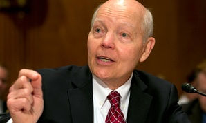IRS Commissioner John Koskinen testifies on Capitol Hill in Washington, Tuesday, June 2, 2015