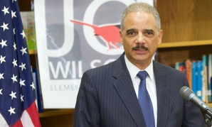 Former Attorney General Eric Holder was one of the officials whose travel was included in the tally.