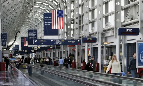 O'Hare International Airport is one of the busiest airports in the United States.