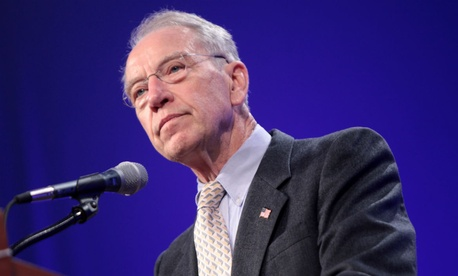 "Sen. Chuck Grassley, R-Iowa, said private collectors would take on accounts ""just sitting dormant right now."""