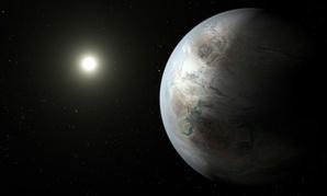 NASA released an artist's rendering of the planet Thursday.