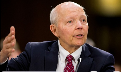 IRS chief John Koskinen testifies before Congress in July. Some Republicans said the report confirmed their views that Koskinen should resign.