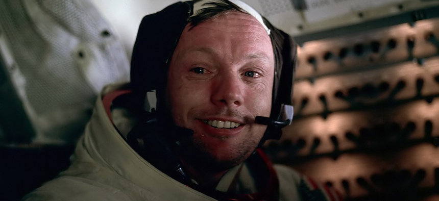 Neil Armstrong was photographed by Buzz Aldrin soon walking on the moon on the Apollo 11 mission.