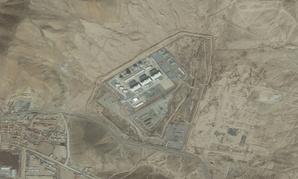 An aerial view of the Tarakhil Power Plant.