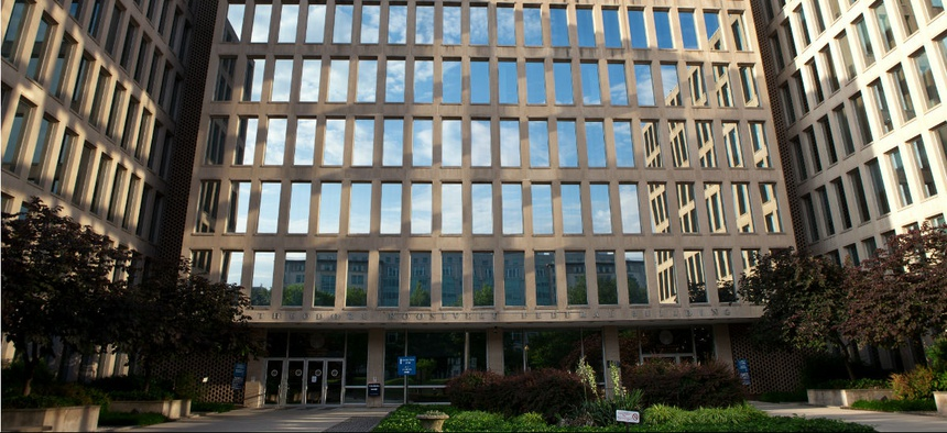 Officer of Personnel Management headquarters in Washington.