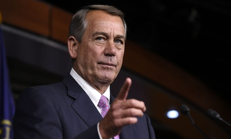 Some House members are openly threatening a revolt against Boehner through a rarely-used procedural maneuver.