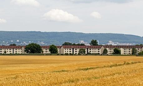 Former Army housing at Patrick Henry Village, Heidelberg, Germany.