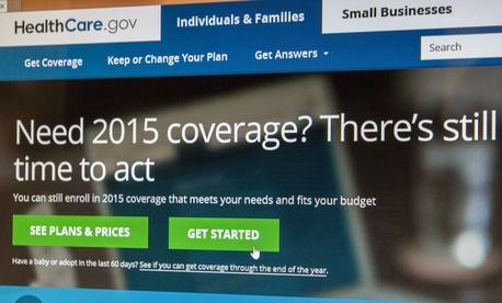Healthcare.gov in 2014.