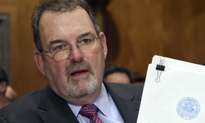 Federal Chief Information Officer Tony Scott testifies before the Senate Homeland Security and Governmental Affairs Committee on Capitol Hill in Washington, Thursday, June 25, 2015, during a hearing on Federal Cybersecurity and the OPM Data Breach.